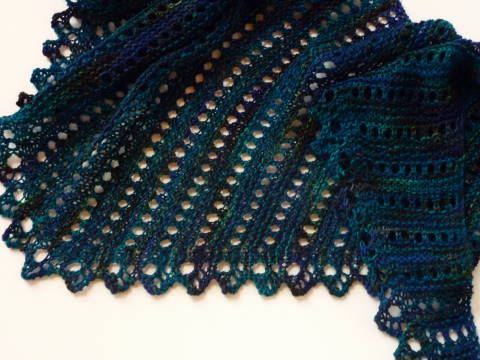 Chery Knits More Little Shawls