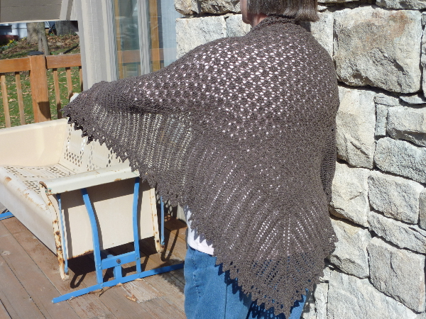 Highland Triangle Shawl